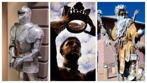 Lancelot, Merlin, Arthur
